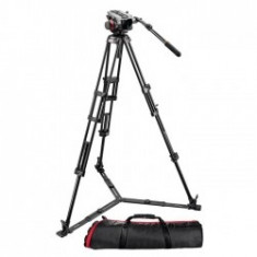 Manfrotto 546GBK + cap 504HD - kit trepied video - Videoproiector Canon