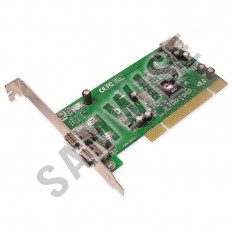 Placa Firewire, Slot PCI, IEEE1394, doua iesiri, Testata cu GARANTIE - Adaptor interfata PC