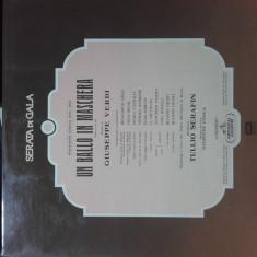 Vinil- Verdi - Un bal mascat - Muzica Opera emi records