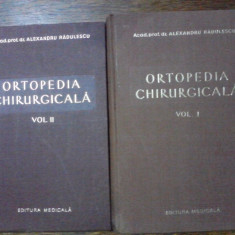 Ortopedia chirurgicala - Prof. Dr. Alexandru Radulescu / C54P - Carte Ortopedie