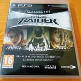 Joc Tomb Raider Trilogy, PS3, original, alte sute de jocuri!