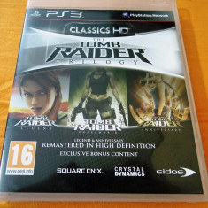 Joc Tomb Raider Trilogy, PS3, original, alte sute de jocuri! - Jocuri PS3 Eidos, Actiune, 12+, Single player