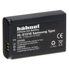 Hahnel HL-S1310 - acumulator replace pentru Samsung NX11 / NX100 - 1150mAh - Baterie Aparat foto