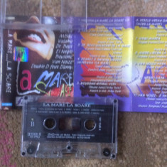 La mare la soare compilatie various caseta audio Muzica Pop cat music dance 1999, Casete audio