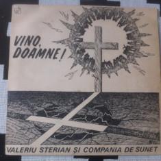 Valeriu sterian si compania de sunet vino doamne disc vinyl muzica folk rock lp - Muzica Rock, VINIL