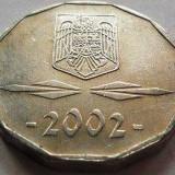 Moneda 5000 Lei - ROMÂNIA, anul 2002 *cod 3468 Allu - Moneda Romania, Aluminiu