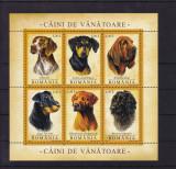 ROMANIA  2005  LP1694 a   CAINI  DE VANATOARE   BLOC  MNH, Nestampilat