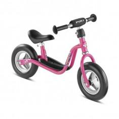 Bicicleta copii Puky Puki fara pedale, 12 inch, 3-5 ani, Otel, Roz