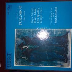 Vinil - Puccini - Turandot - Muzica Opera rca records