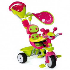 Tricicleta Baby Driver Confort Sport roz Smoby