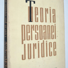 Teoria persoanei juridice - Iosif I. Christian - 1964 - Carte Drept civil