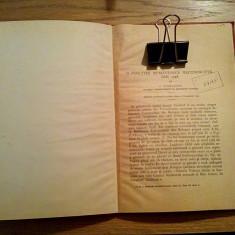 O PSALTIRE ROMANEASCA NECUNOSCUTA DIN 1748 - C. Tagliavini - 1941, 12 p. + V pl.
