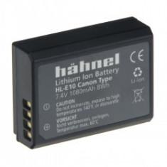 Hahnel HL-E10 - acumulator tip LP-E10 pentru Canon, 7.4V, 1080mAh - Baterie Aparat foto