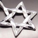 Pandantiv, Amuleta Steaua lui David (Scutul lui David) - cod PND009