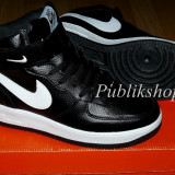 Ghete Nike Air Force negru/alb