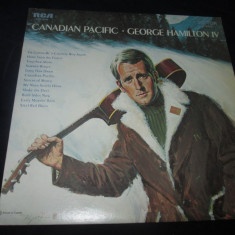 George Hamilton IV - Canadian Pacific _ vinyl, LP, album, SUA - Muzica Country rca records, VINIL