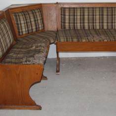 Coltar pentru retapitare; Canapea de bucatarie cu lada de depozitare - Coltar bucatarie