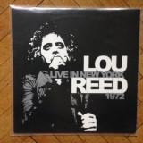 LOU REED - LIVE IN NEW YORK 1972 ( VINIL / VINYL ) art rock / indie rock