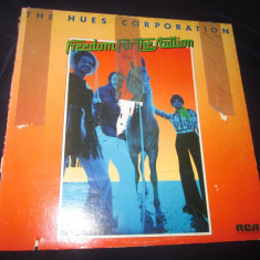 The Hues Corporation ‎– Freedom For The Stallion _ vinyl, LP, album, SUA anii'70 - Muzica R&B rca records, VINIL