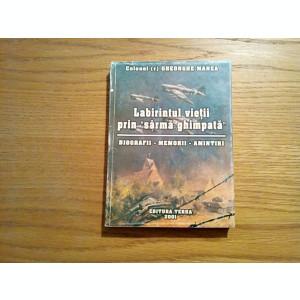 LABIRINTUL VIETII PRIN SARMA GHIMPATA - Gheorghe Manea (autograf) - 2001, 299p
