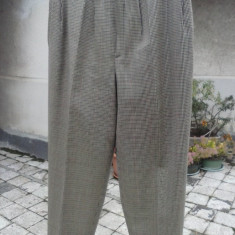 Pantaloni din stofa de lana - Pantaloni dama