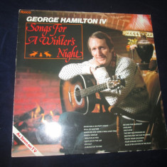 George Hamilton IV - Songs For A Winter's Night _ vinyl,LP,album,UK