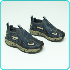 NOI, DE FIRMA _ Pantofi adidasi, aerisiti, usori, calitate GEOX _ baieti | nr 27 - Pantofi copii Geox, Culoare: Din imagine