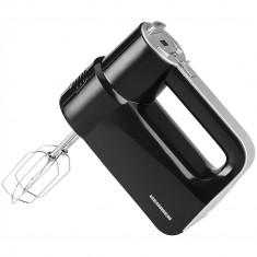 Mixer de mana Heinner HM-450D, 450W, 8 Viteze, functie Turbo, display, negru - Mixer Bucatarie Heinner, Numar viteze: 8