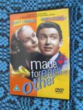 MADE FOR EACH OTHER (1 DVD ORIGINAL cu JAMES STEWART - CA NOU!!!), Engleza