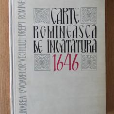 CARTE ROMANEASCA DE INVATURA- EDITIE CRITICA- ANDREI RADULESCU- CARTONATA
