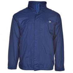 Jacheta Geaca barbati impermeabila Dunlop originala - marimea XL, Culoare: Albastru