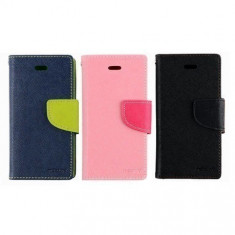 Husa Allview V1 Viper S 4G Flip Case Inchidere Magnetica Neagra, Alt model telefon Allview, Negru, Piele Ecologica