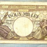 A1067 BANCNOTA-ROMANIA-2000 LEI- 18 NOEMVRIE 1941-SERIA0977-starea care se vede - Bancnota romaneasca