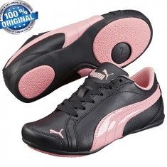 ADIDASI ORIGINALI 100% PUMA Dance din GERMANIA pt fete sau copii nr 34 ;34.5 - Adidasi dama Puma, Culoare: Negru