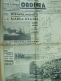 Ordinea 10 octombrie 1941 Odesa granicer marea neagra Dalnic evrei tricolor moda