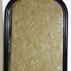 Oglinda de perete cu rama din lemn masiv 109X81 cm - Oglinda living