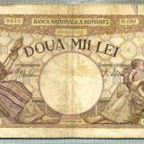 A1065 BANCNOTA-ROMANIA-2000 LEI- 18 NOEMVRIE 1941-SERIA1202-starea care se vede - Bancnota romaneasca