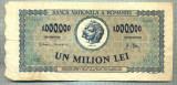 A1076 BANCNOTA-ROMANIA-1000000 LEI-16 APRILIE 1947-SERIA0989-starea care se vede