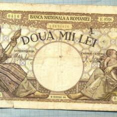 A1056 BANCNOTA-ROMANIA-2000 LEI- 18 NOEMVRIE 1941-SERIA0768-starea care se vede - Bancnota romaneasca