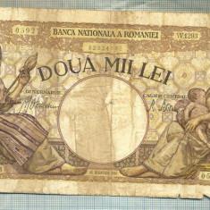 A1071 BANCNOTA-ROMANIA-2000 LEI- 18 NOEMVRIE 1941-SERIA1293-starea care se vede - Bancnota romaneasca
