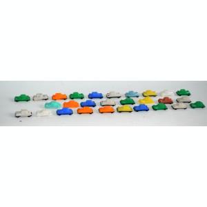 Miniaturi, masinute romanesti din plastic dur - anii '80