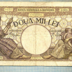 A1055 BANCNOTA-ROMANIA-2000 LEI- 18 NOEMVRIE 1941-SERIA0694-starea care se vede - Bancnota romaneasca