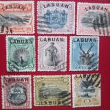 TIMBRE ANGLIA/COLONII -LABUAN=1894, Stampilat