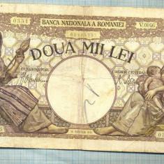 A1070 BANCNOTA-ROMANIA-2000 LEI- 18 NOEMVRIE 1941-SERIA0046-starea care se vede - Bancnota romaneasca