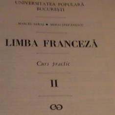 LIMBA FRANCEZA-CURS PRACTIC- VOL-2-MARCEL SARAS-381 PG A 4- - Curs Limba Franceza