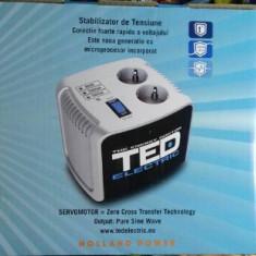 Stabilizator de tensiune TED Electric 500VA - Stabilizator tensiune