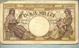 A1061 BANCNOTA-ROMANIA-2000 LEI- 18 NOEMVRIE 1941-SERIA1171-starea care se vede