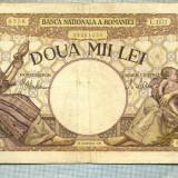 A1061 BANCNOTA-ROMANIA-2000 LEI- 18 NOEMVRIE 1941-SERIA1171-starea care se vede - Bancnota romaneasca