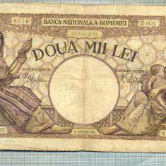 A1073 BANCNOTA-ROMANIA-2000 LEI- 18 NOEMVRIE 1941-SERIA0121-starea care se vede - Bancnota romaneasca
