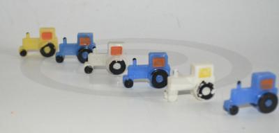 Miniaturi, tractoare/ tractorase romanesti din plastic dur - anii '80 foto